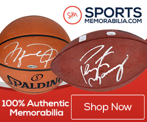 Shop for Thousands of 100% Authentic Autographed Sports Collectibles at SportsMemorabilia.com