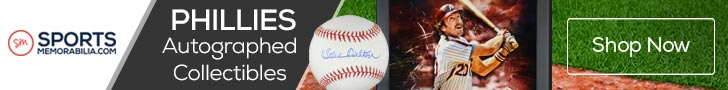Shop for Authentic Autographed Philadelphia Phillies Collectibles at SportsMemorabilia.com