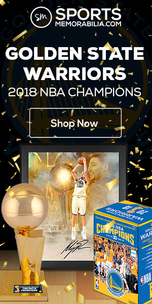 7539a1247 Shop for Golden State Warriors 2018 NBA Champs Collectibles at  SportsMemorabilia.com