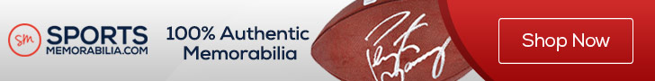Save Up to 80% on Authentic Collectibles and Memorabilia at SportsMemorabilia.com During Our Semi-Annual Sale Event