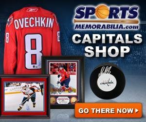Shop for Authentic Autographed Capitals Collectibles at SportsMemorabilia.com