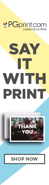 Say It with Print! Shop Now at PGprint.com!