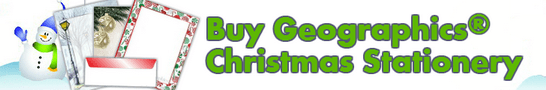 Buy Geographics Christmas Stationery 2015 and Save!
