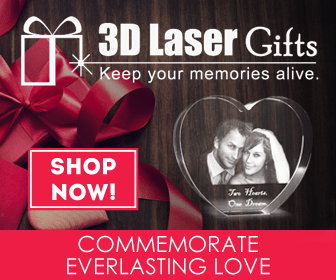 3D Laser Gifts Keep Your Memories Alive
