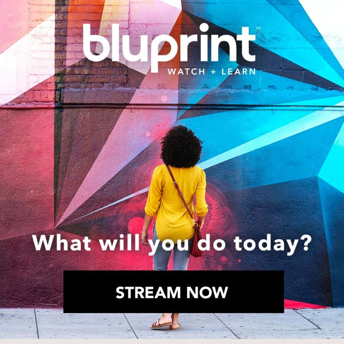 Start your FREE Bluprint trial.