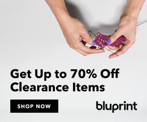 Get Up to 70% Off Clearance Items at shop.mybluprint.com 2/26-2/27/19, no coupon needed!