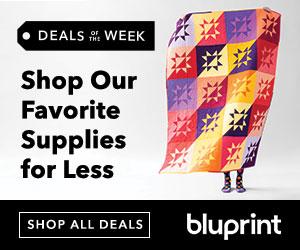 Shop deals of the week at shop.mybluprint.com!