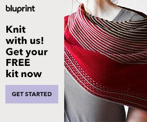 Ultimate Knit Package - Free Knit Kit + 12 FREE Own-Forever Classes With Annual Bluprint Subscription (through 3/13)