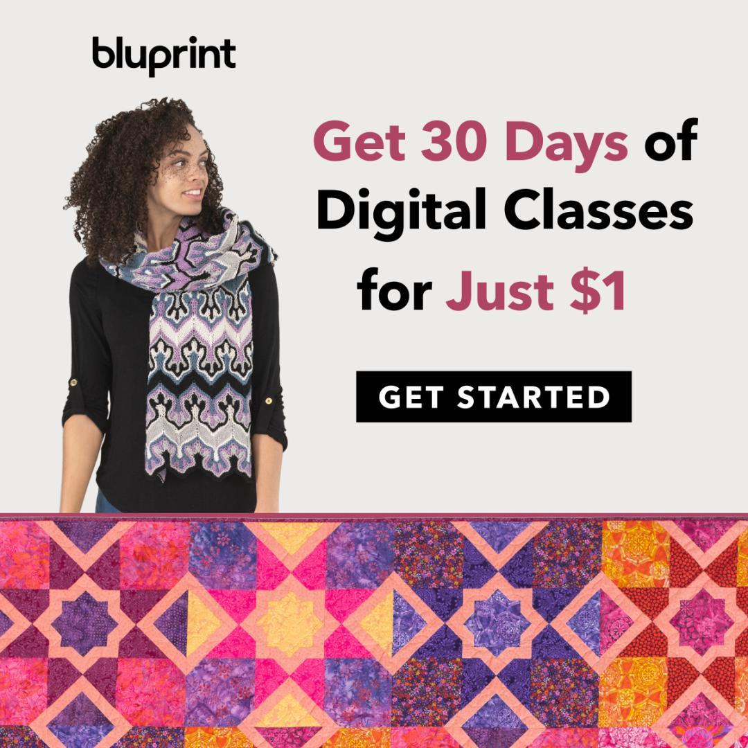 Get 30 Days of Bluprint For Just $1 at mybluprint.com 8/1-8/31/19.