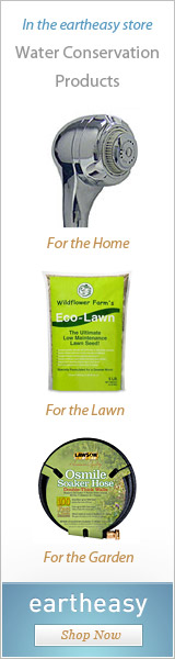 Products for indoor and outdoor water conservation at Eartheasy.com