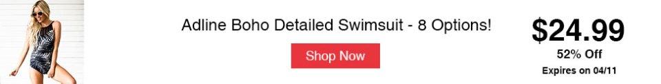 Adline Boho Detailed Swimsuit - 8 Options!