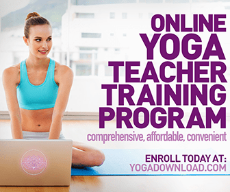Online yoga teacher certification course