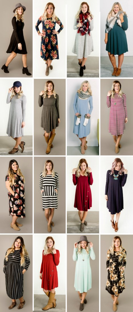 CYBER MONDAY- Dresses from $19.95 & FREE SHIPPING!