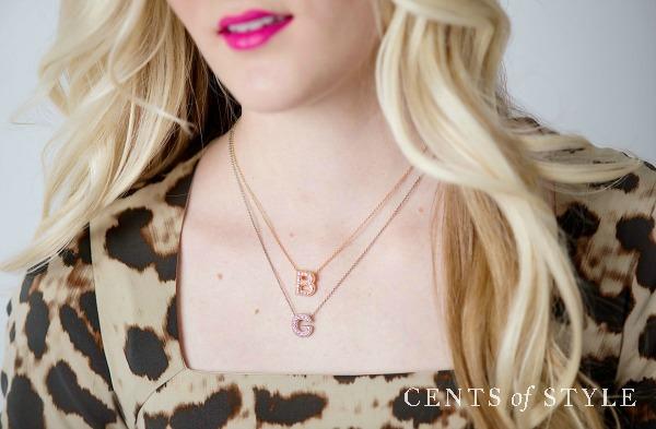 IMAGE: Fashion Friday- 5/29/15- Monogram Jewelry- $9.95 & FREE SHIPPING w/ Code MONOGRAM