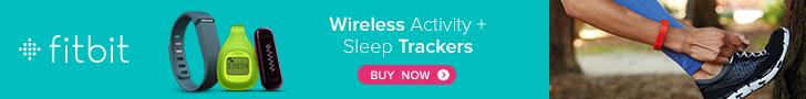 Fitbit wireless activity + sleep trackers