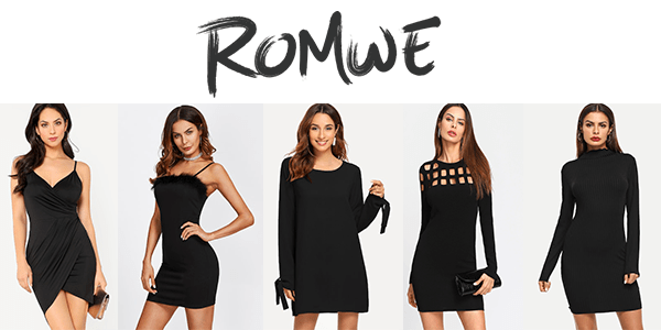 Shop ROMWE for that awesome Little Black Dress