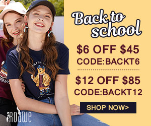 Roawe Special Sale for Back to School 2018