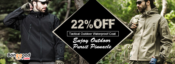 Tactical Outdoor Sharkskin Jacket Mens