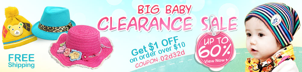 Big Baby Clearance Sale