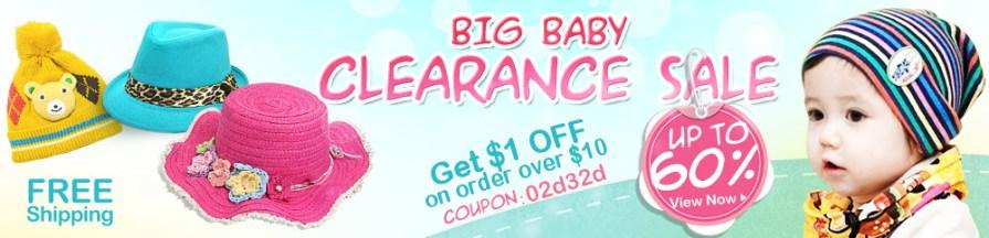 Big Baby Clearance Sale