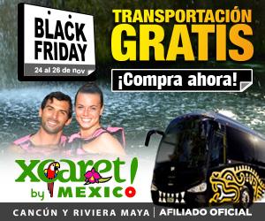 ¡Black Friday llegó! Compra ya y obtén Transportación GRATIS a nuestras atracciones. Válido del 24 al 27 de noviembre. Aplican restricciones.