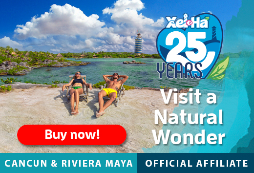 Xel-Há Park a great place for Snorkel, all you can eat & drink. A wonder of the world at Tulum, Riviera Maya.