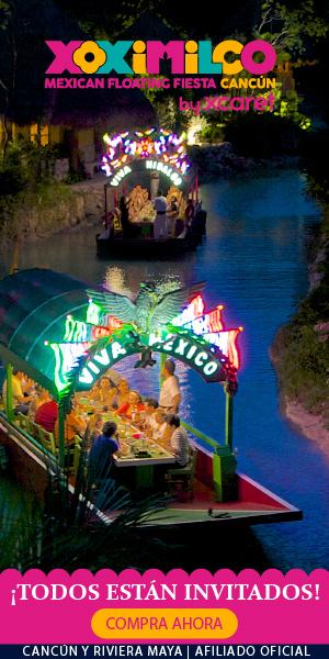 Vive una noche mexicana a bordo de una trajinera en Xoximilco Cancun