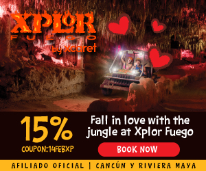 15% off at Xplor Fuego for Valentines