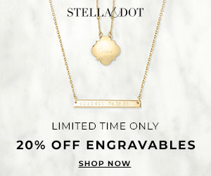 stella and dot engravables