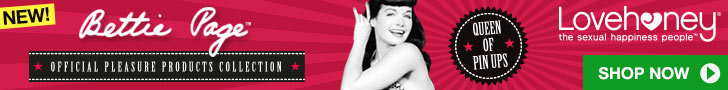 Explore the Bettie Page Collection at Lovehoney!