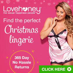 Christmas Lingerie at Lovehoney, 365 Day No Hassle Returns