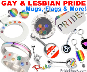 LGBT Gay Pride Items #1 (Square Banner)
