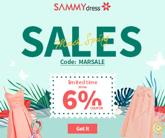 Sammydress Spring Sale: Up to 70% OFF and Use Extra 6% OFF Coupon: MARSALE, Don't Miss it and Shop Now!