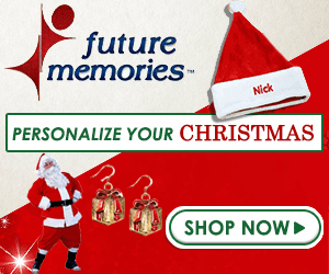 personalize your Christmas with Future Memories