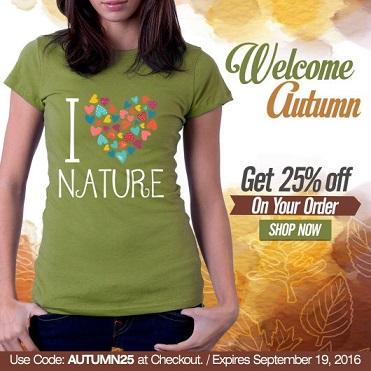 Welcome Autumn Coupon Code