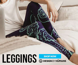 Shop the legging collection at DesignByHumans.com.