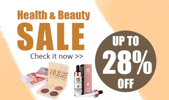 Health & Beauty Sale! Up to 28% Off!  Check it now!