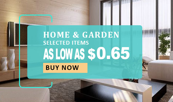 As low as $0.65! Home & Garden Sale!
