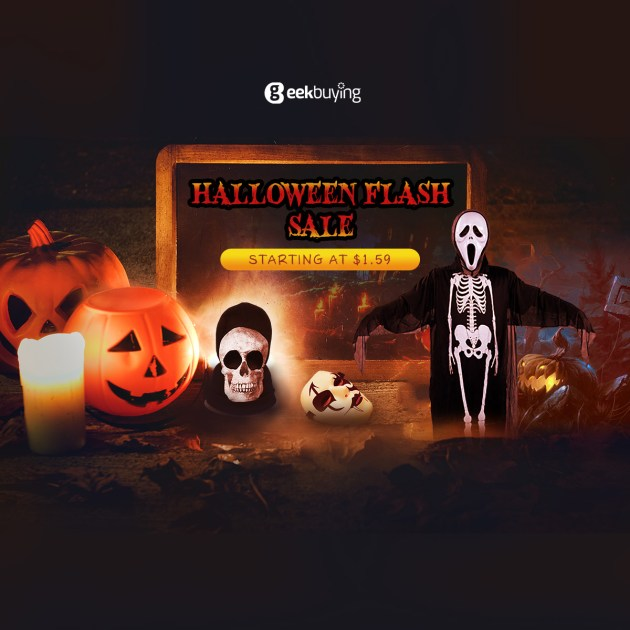 Halloween Flash Sale Starting at $1.59