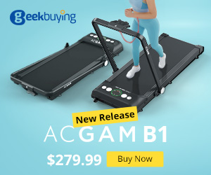 € 227.36 for ACGAM B1-402 Portable Treadmill with the coupon: ACGAMB1