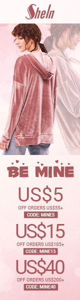 Enjoy $40 off orders $200+ with coupon code MINE40 at SheIn.com! Ends 1/23
