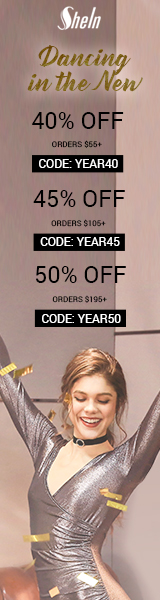 Enjoy 50% off orders $195+ with Coupon Code YEAR50 at us.SheIn.com! Ends 1/16 (US Only)