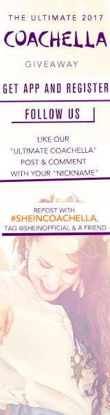SheIn is sending 2 lucky Persons to Coachella - including airfare and hotel! The winner will also receive makeovers by some of hottest influencers for the entire weekend! US Customers and Affiliates Only