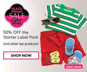 Get 50% Off Started Label Pack