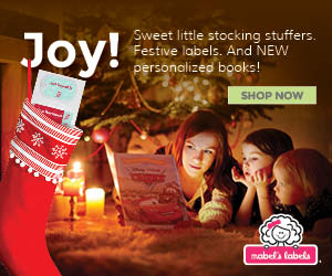 Sweet Little Stocking Stuffers, Festive Labels, and New Personalized Books!