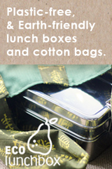 Plastic Free Lunch Boxes and Bags at ECOlunchbox!