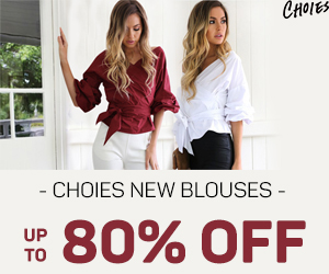 BLOUSES BIG STATEMENT, Fresh Picks,Distinctive Look,Steep 80% OFF! Explore Trends Spotting >>