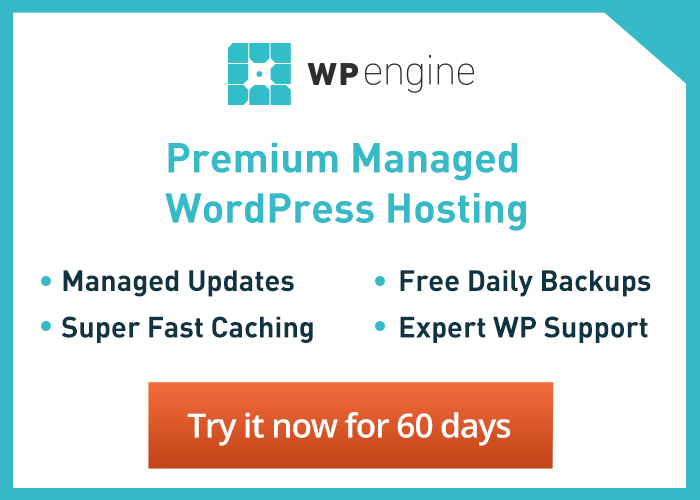 WP Engine Premium Managed WordPress Hosting