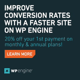 WPEngine Black Friday