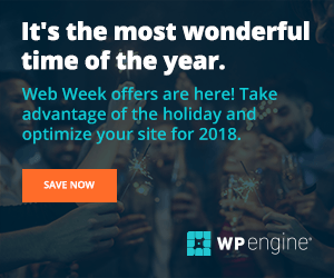 Deals / Coupons WP Engine 1